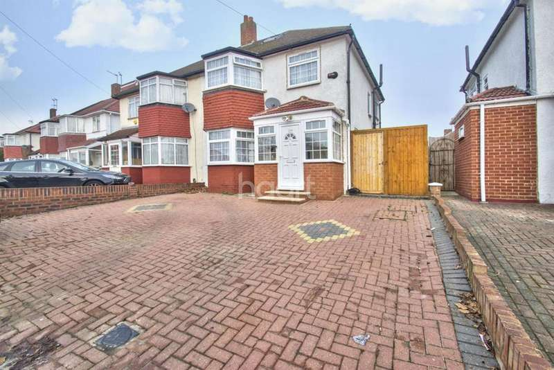 3 Bedrooms Semi Detached House for sale in Chaplin Road, Wembley