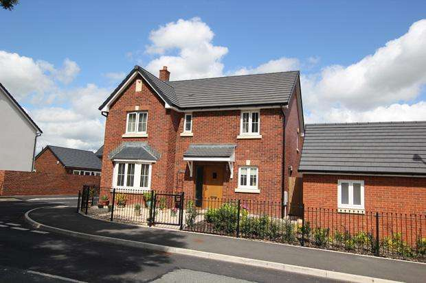 4 Bedrooms Detached House for sale in Mount Pleasant, Llangunnor, Carmarthen , Carmarthenshire