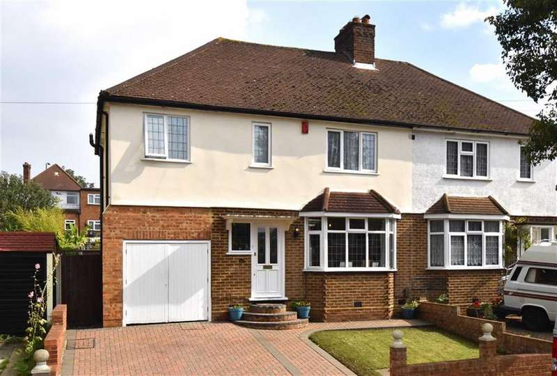 4 Bedrooms Semi Detached House for sale in Kechill Gardens, Hayes, Kent