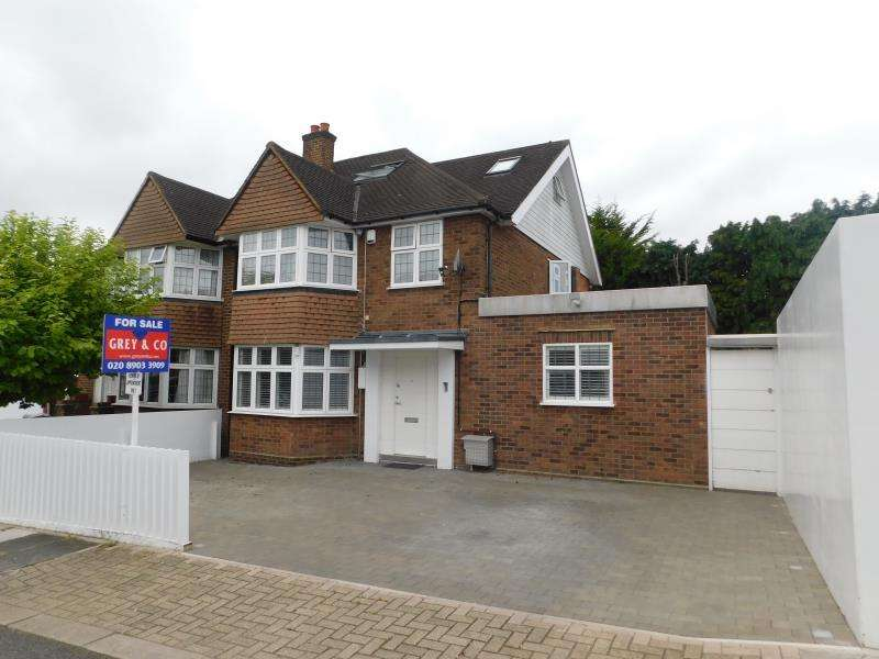 4 Bedrooms Semi Detached House for sale in Priory Hill , Middlesex