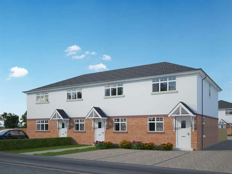 2 Bedrooms Terraced House for sale in NEW DEVELOPMENT - NORTHBOURNE - TWO BEDROOM HOUSE - HELP TO BUY