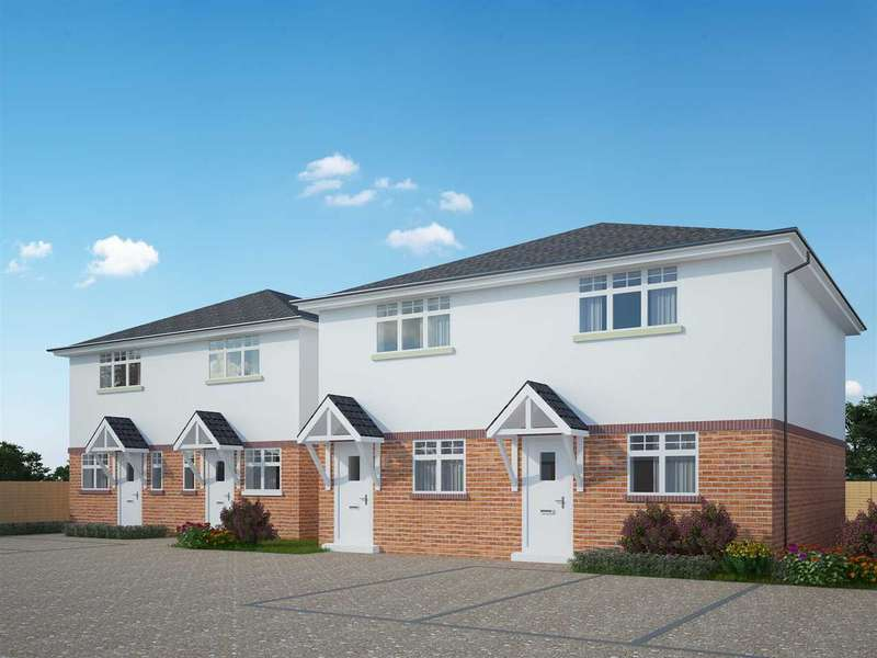 2 Bedrooms Semi Detached House for sale in NEW DEVELOPMENT - NORTHBOURNE - TWO BEDROOM HOUSE - HELP TO BUY