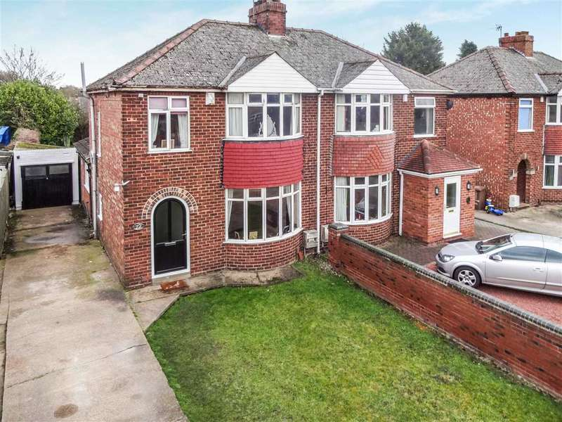 3 Bedrooms Semi Detached House for sale in Station Road, North Hykeham, Lincoln