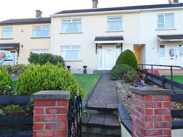 3 Bedrooms Terraced House for sale in Derrychara Drive