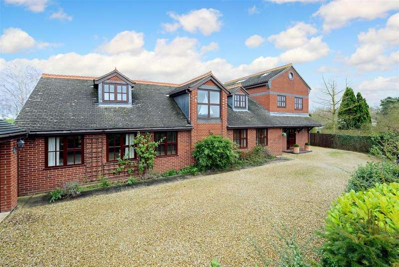 5 Bedrooms Detached House for sale in Berwick Wharf, Uffington, Shrewsbury
