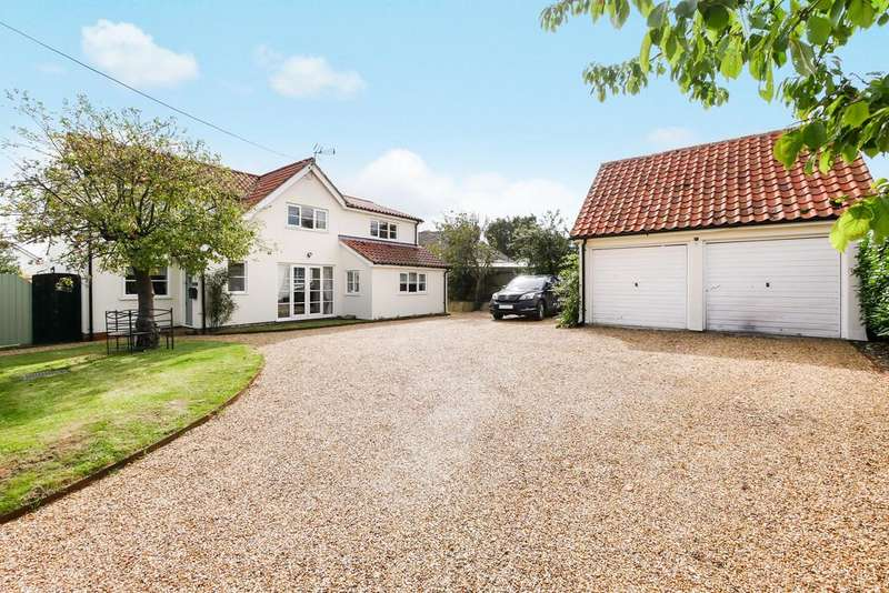 5 Bedrooms Detached House for sale in Main Road, Bucklesham