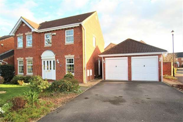 4 Bedrooms Detached House for sale in Blackthorn Drive, Portishead, Bristol