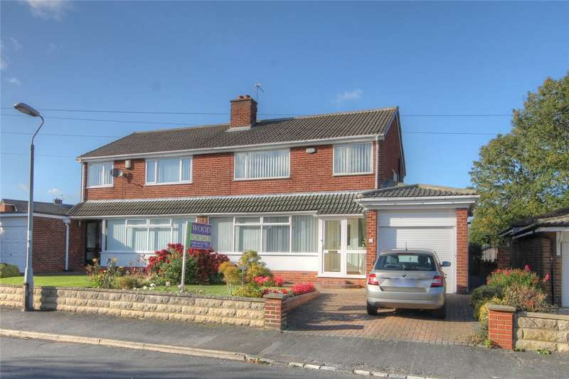 3 Bedrooms Semi Detached House for sale in Warkworth Avenue, Bishop Auckland, Co Durham, DL14