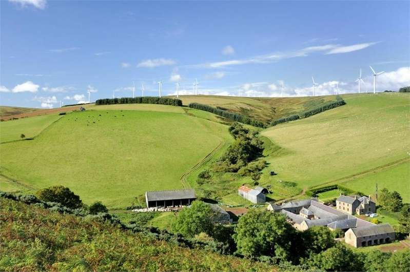 5 Bedrooms Land Commercial for sale in Kidshielhaugh Farm, Duns, Berwickshire, Scottish Borders, Scotland
