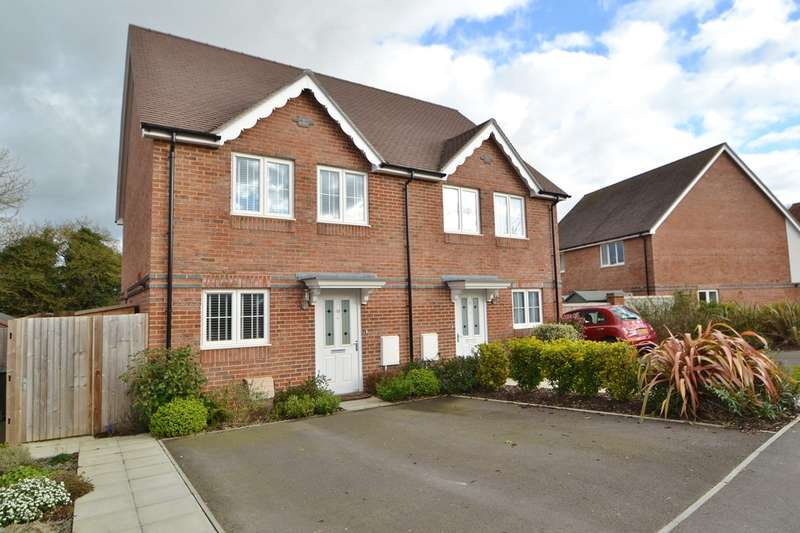 3 Bedrooms Semi Detached House for sale in Bishopdown Farm
