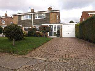 3 Bedrooms Semi Detached House for sale in Canon Close, Rochester, Kent