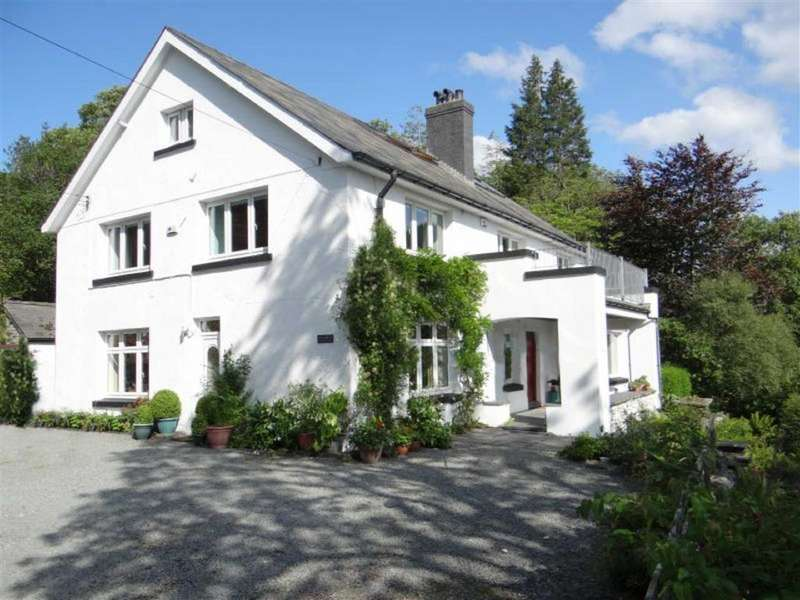 5 Bedrooms Detached House for sale in Dolwyddelan