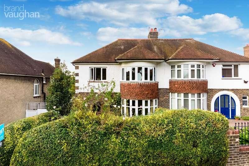 4 Bedrooms Semi Detached House for sale in Preston Drove, Brighton, BN1