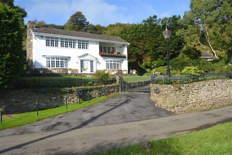 4 Bedrooms Detached House for sale in Landimore, Swansea