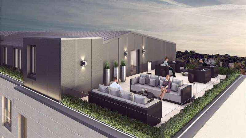 2 Bedrooms Flat for sale in Plot 2 - Atrium Gardens, Broomhill, Glasgow, G11
