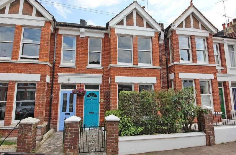 3 Bedrooms Terraced House for sale in Loder Road, Brighton BN1