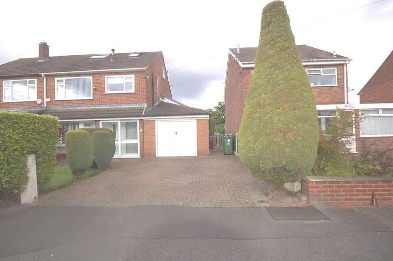 4 Bedrooms Semi Detached House for sale in Elmsleigh Road, Heald Green, Cheadle, Cheshire SK8