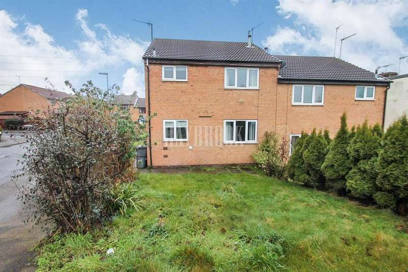 1 Bedroom End Of Terrace House for sale in Brinsford Road, Brinsworth