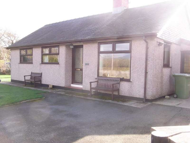 2 Bedrooms Detached Bungalow for sale in Gwynfa, Llanfrothen LL48
