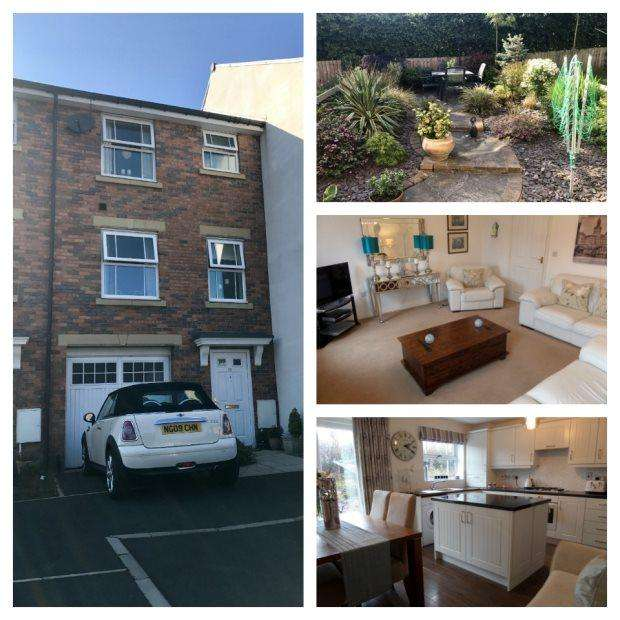 4 Bedrooms Terraced House for sale in BARRINGTON CLOSE, DURHAM CITY, DURHAM CITY