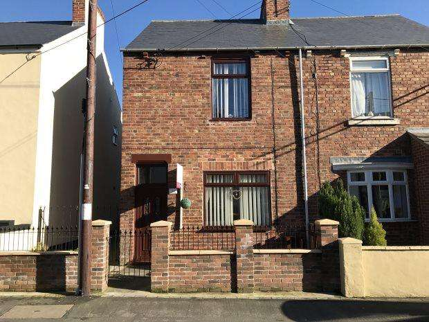 2 Bedrooms Semi Detached House for sale in SCHOOL AVENUE, COXHOE, DURHAM CITY : VILLAGES EAST OF