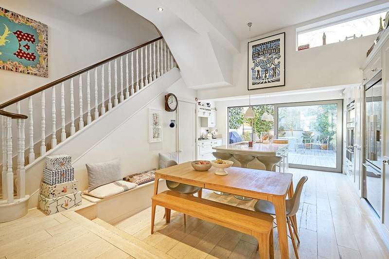 5 Bedrooms Terraced House for sale in Sterndale Road, Brook Green, London, W14
