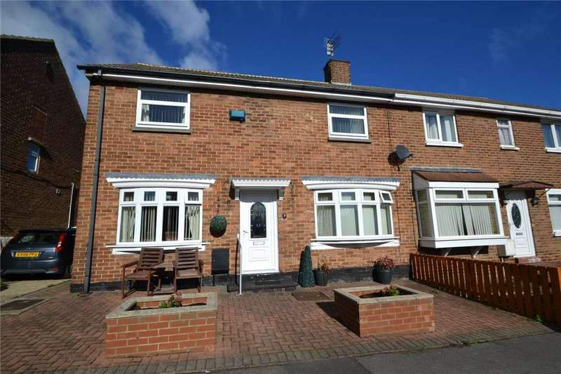 3 Bedrooms Semi Detached House for sale in Newark Close, Peterlee, Co.Durham, SR8