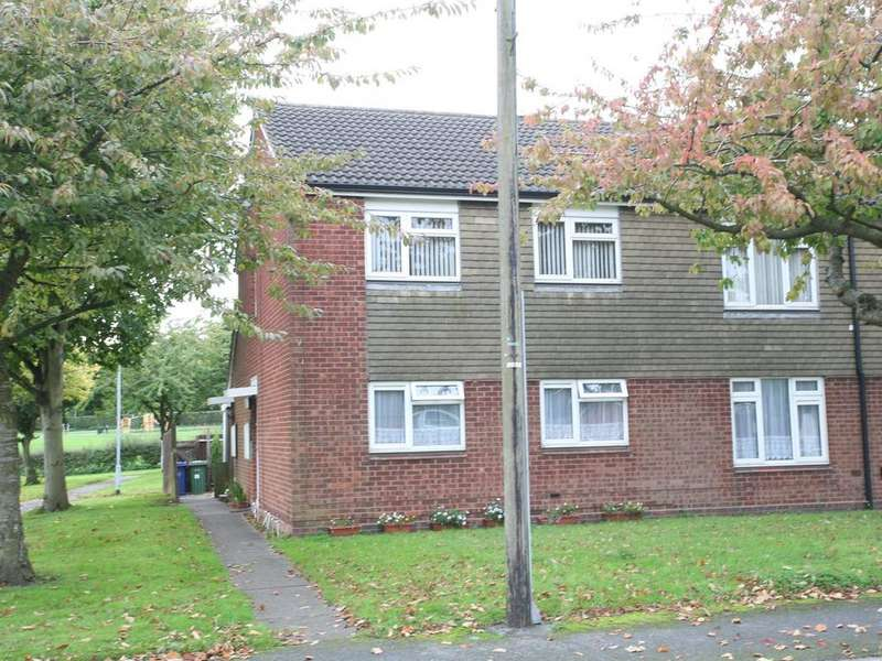 2 Bedrooms Flat for sale in 8 Hannaford Way, Cannock, WS11 6XH