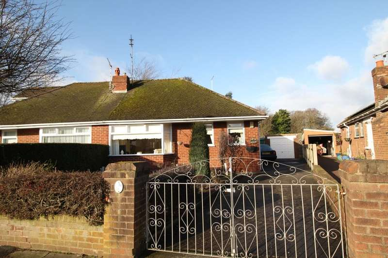 2 Bedrooms Semi Detached Bungalow for sale in Sefton Avenue, Poulton-Le-Fylde, FY6