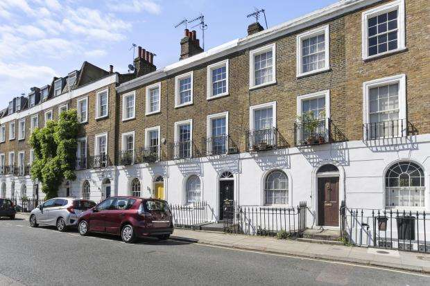 4 Bedrooms Terraced House for sale in Arlington Road, Camden, London, NW1