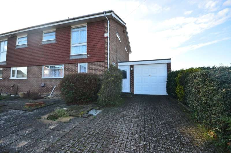 3 Bedrooms Semi Detached House for sale in Hutsford Close, GILLINGHAM, ME8