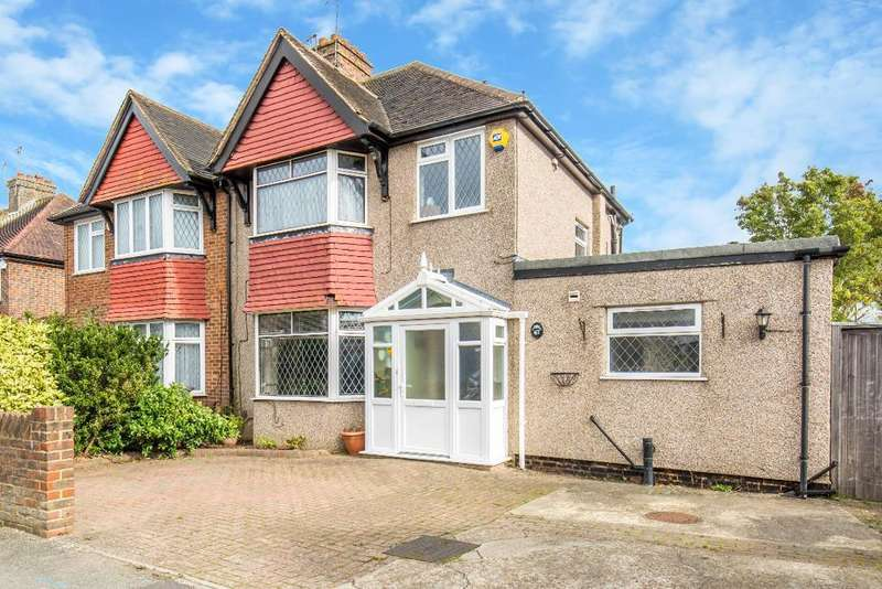4 Bedrooms Semi Detached House for sale in Ellesmere Drive, Sanderstead, South Croydon, Surrey, CR2 9EL