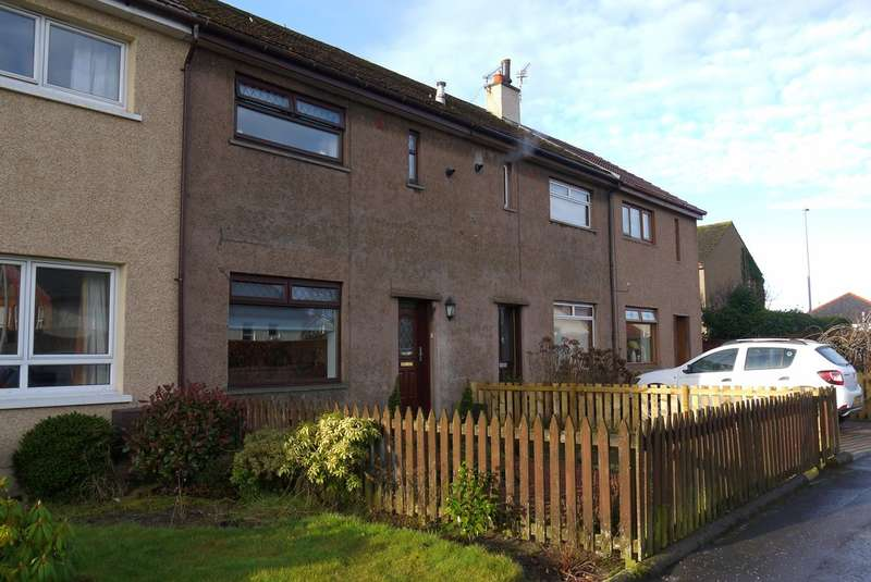 2 Bedrooms Terraced House for sale in Biggart Road, Prestwick, KA9