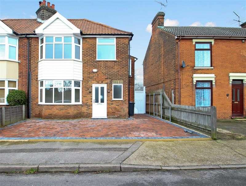 3 Bedrooms Semi Detached House for sale in Upper Cavendish Street, East Ipswich, Ipswich