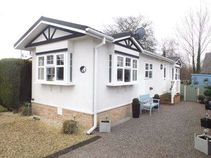 2 Bedrooms Mobile Home for sale in Millfield Park, Old Tupton, Chesterfield, Derbyshire