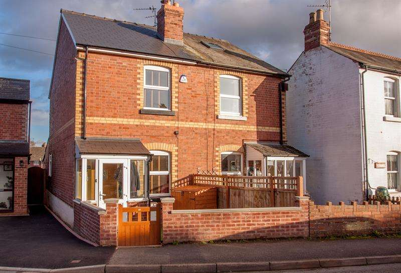 2 Bedrooms Semi Detached House for sale in Camp Road, Ross-On-Wye