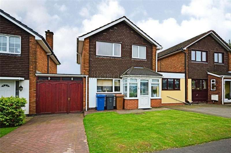 3 Bedrooms Link Detached House for sale in St Benedicts Road, Burntwood, Staffordshire