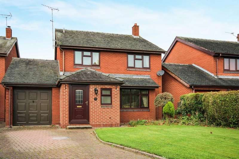4 Bedrooms Detached House for sale in The Orchard, Stramshall, Uttoxeter, Staffordshire