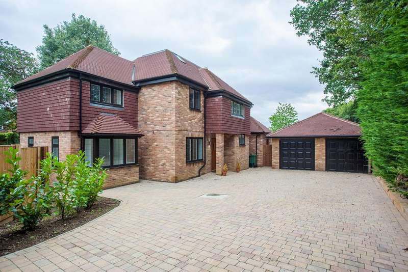 5 Bedrooms Detached House for sale in Oak Lea, Green Lane Close, Harpenden , AL5 1NF