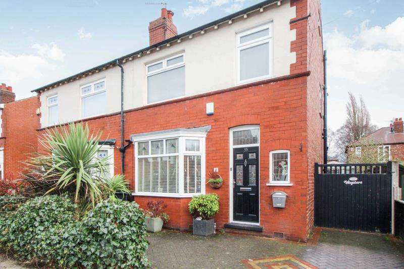 3 Bedrooms Semi Detached House for sale in Birchfield Road, Cheadle Heath