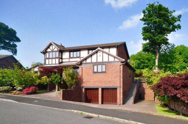 5 Bedrooms Detached House for sale in Bridgefield Drive, Bridgefields, Bury