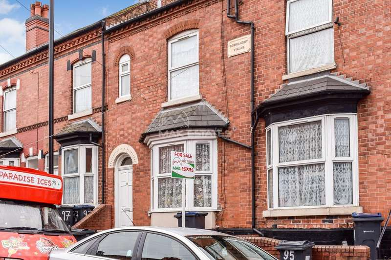 4 Bedrooms Terraced House for sale in Durham Road, Sparkhill, Birmingham B11