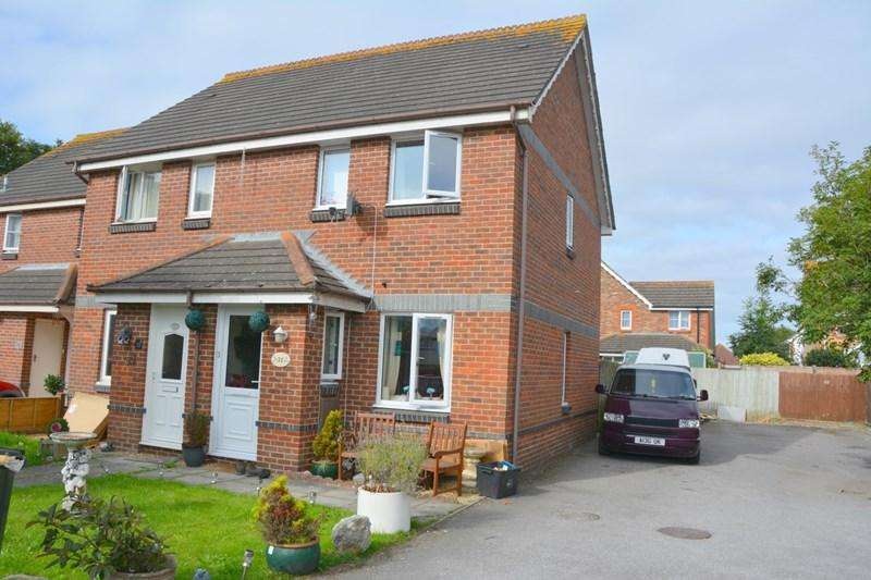 2 Bedrooms Semi Detached House for sale in Enmore Close, Burnham-On-Sea