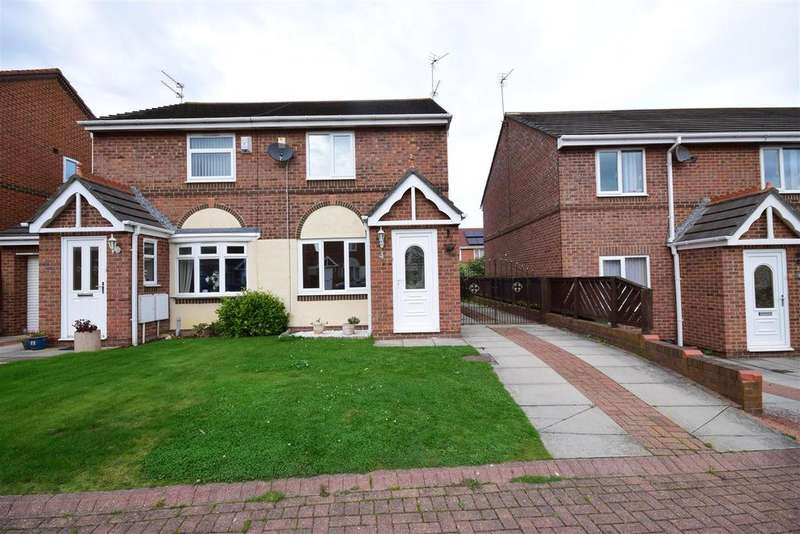 2 Bedrooms Semi Detached House for sale in Greenhow Close, Ryhope, Sunderland