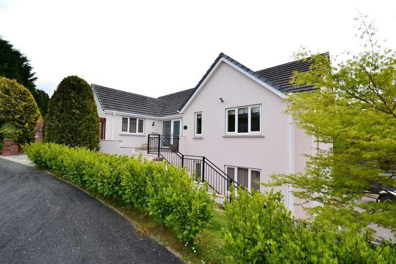 4 Bedrooms Detached House for sale in Woodside Heights, Stepaside, Saundersfoot