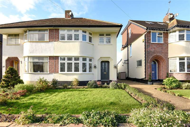 3 Bedrooms Semi Detached House for sale in Greencroft Avenue, Eastcote, Middlesex, HA4