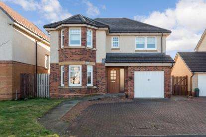 4 Bedrooms Detached House for sale in Westfarm Avenue, Cambuslang, Glasgow, South Lanarkshire