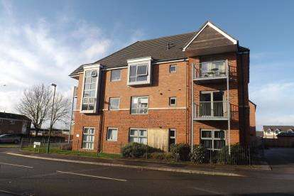2 Bedrooms Flat for sale in Keepers Gate, Chelmsley Wood, Birmingham, West Midlands