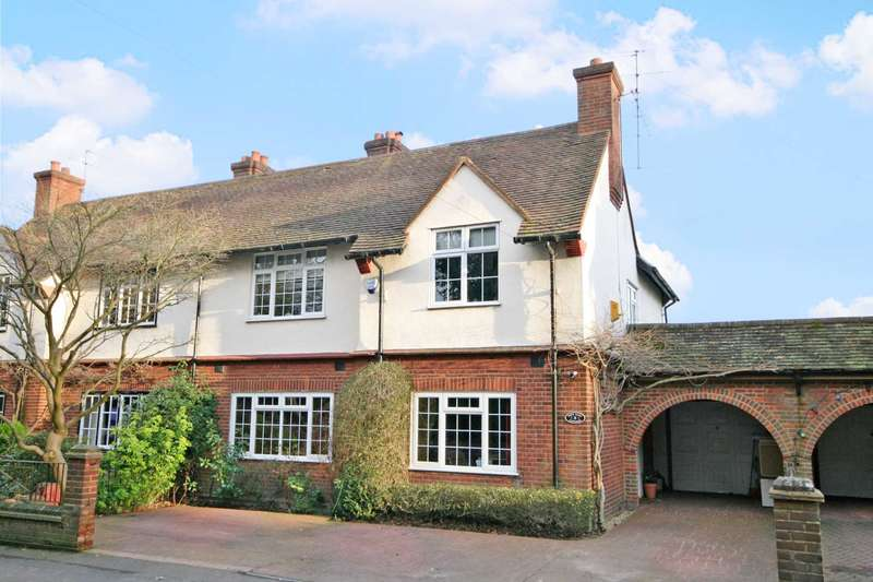 4 Bedrooms Semi Detached House for sale in Abbotts Langley Borders