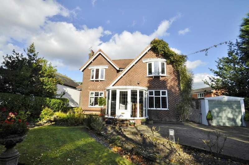 4 Bedrooms Detached House for sale in Grange Road, Bramhall